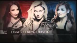 WWE WRESTLEMANIA 32 DIVAS CHAMPIONSHIP MATCH MATCH CARD