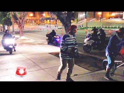KICKED OUT BY MOTORBIKE COPS FOR BMX