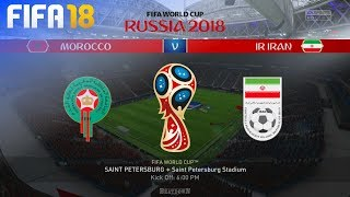 FIFA 18 World Cup - Morocco vs. Iran @ Saint Petersburg Stadium (Group B)