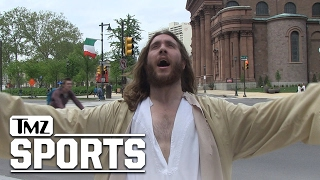 Jesus Is an Eagles Fan?! | TMZ Sports