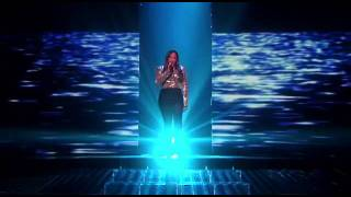 Melanie Amaro Performs on the Second Live Show - THE X FACTOR USA 2011