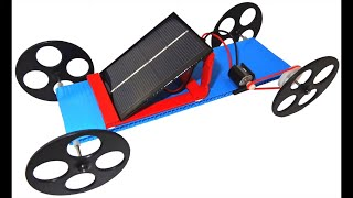 How to build a solar & capacitor powered car