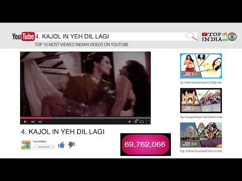 Top 10 Most Viewed Indian Videos On YouTube || Top10INDIA