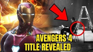 Avengers 4 Title Teased by Russo Brothers & Avengers Infinity War Details
