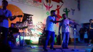Anuprastha cover chari bharara-  by binil and mukti solo-pawan, rythm-yogen ,bass-sudip drm-kiran
