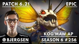 256. TSM Bjergsen - AP Kog'Maw vs Viktor - Mid - October 26th, 2016 - Season 6 - Patch 6.21