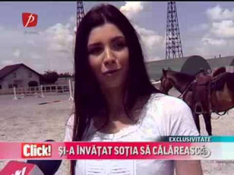 Bebelusa Cristina s a apucat de călărit Click Prima TV