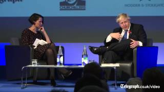 Boris Johnson explains how to speak like Winston Churchill