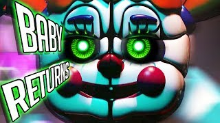 FNAF Sister Location 2 CONFIRMED! 😱 - BABY RETURNS BUT WHAT DOES IT MEAN? (Five Nights at Freddy's)