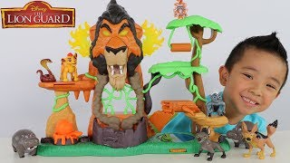 Disney The Lion Guard Toys Rise Of Scar Playset Unboxing Fun With Ckn Toys