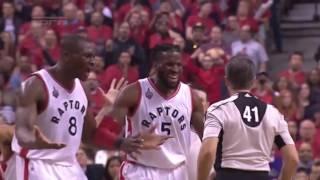 Cleveland Cavaliers vs Toronto Raptors. Game #3. PlayOff NBA 2016