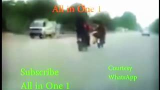 Giving Mobile Number to Girl On Bike - Whatsapp Video