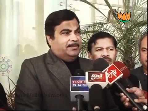 BJP Byte: Parliament Session on Lokpal Bill: Sh. Nitin Gadkari: 30.12.2011