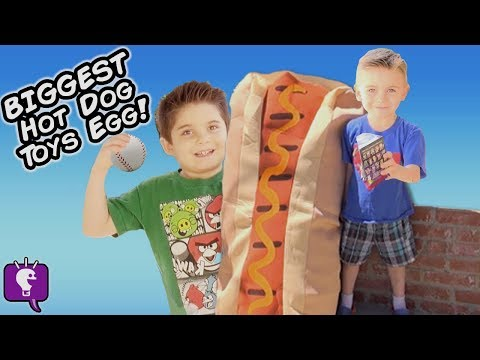 Xxx Mp4 Giant HOT DOG Toys And Surprises 3gp Sex