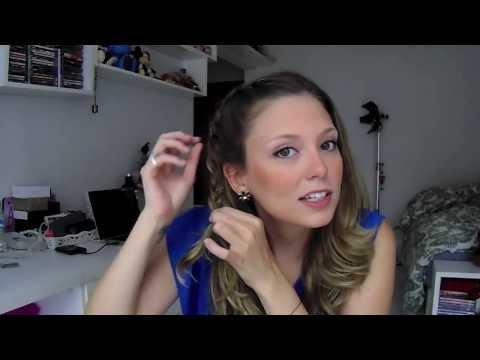 Riachuelo Fashion Girl | Tutorial: franja com trança embutida