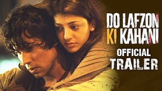 Do Lafzon Ki Kahani | Official Trailer 2 | Randeep Hooda, Kajal Aggarwal | HD