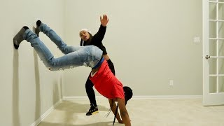 SHE TAUGHT ME HOW TO TWERK!!