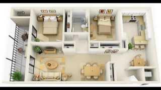 منازل ثلاثية الابعاد