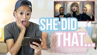 Taylor Swift - Look what you made me do - Music Video REACTION