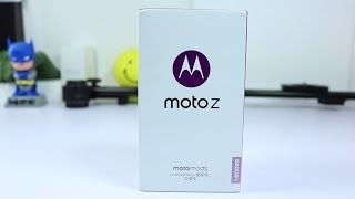 Moto Z Unboxing and Initial Impressions (Moto Z Droid)