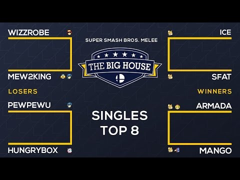 watch The Big House 6 - Full Melee Top 8 Singles Broadcast
