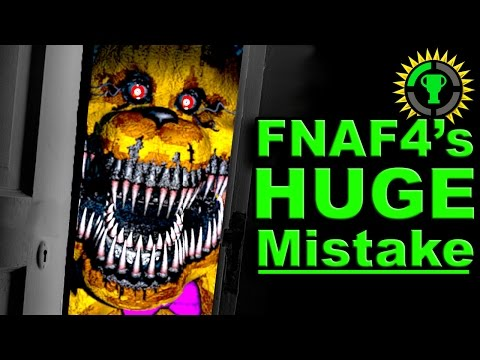 Game Theory FNAF 4 got it ALL WRONG