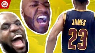 LeBron James Be Like..