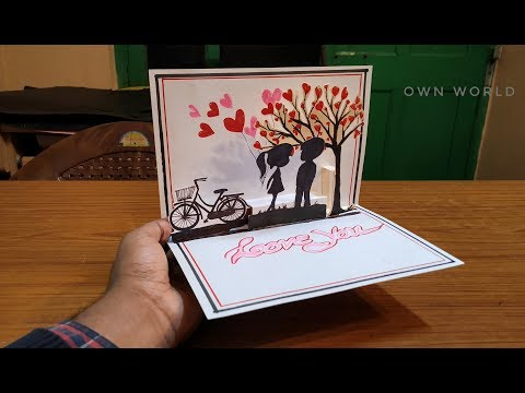 Xxx Mp4 DIY Cute Valentine Card Handmade Pop Up Card For Valentine S Day 3gp Sex