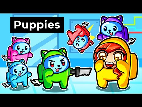 Among Us but we re PUPPIES