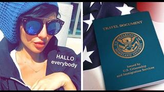 مريم حسين : الجواز الامريكي هو حلمي منذ الطفولة !