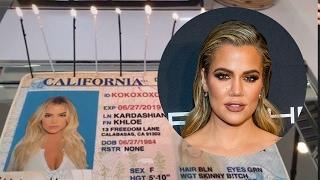 Khloe Kardashian Celebrates Name Change With EPIC Cake
