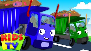 Wheels On The Garbage Truck Go Round And Round | Nursery Rhymes | Kids Songs | Baby Rhymes
