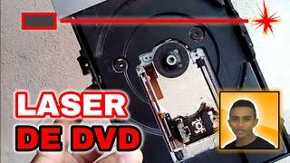 Como fazer LASER com DVD