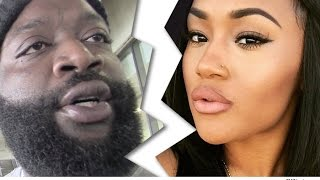 Rick Ross Pulls a BOSS Move and Calls off Engagement with IG Model Once he Got Off House Arrest!