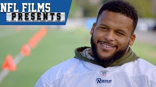 "Aaron Donald's ""Sharp"" Training Technique   NFL Films Presents"
