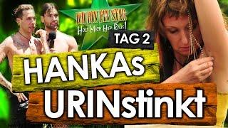 Dschungelcamp 2017 - Tag 2: Hanka PINK*LT in Teich! Honey & Florian HALBNACKT in Prüfung (IBES)