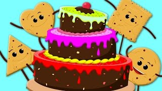 Cake Song | Happy Birthday Song | Nursery Rhymes | Cookie Song | Baby Rhymes