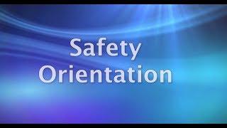Safety Orientation Training Video