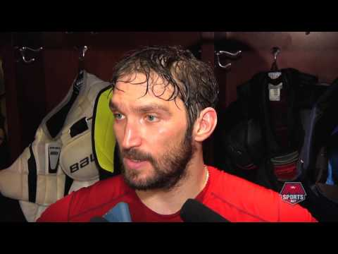 Ovechkin on reaching 1,000 points