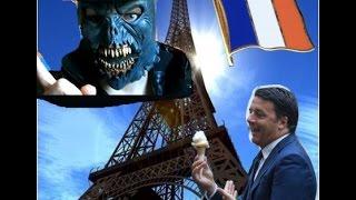 Matteo Renzi e l'inglese..no, il francese! Figuraccia! Accenno Sblocca Italia.