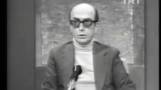 Edip Cansever ile röportaj 1975 yılı