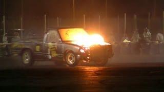 استعراض و حرق ددسن تيربو في بطولة حلبة قطر - Engine Explodes Drifting