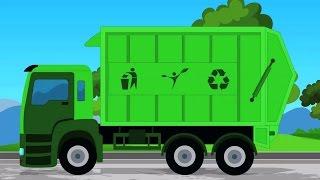 sampah trak | popular video untuk kanak | Garbage  Truck For  Kids | Kids Educational Video