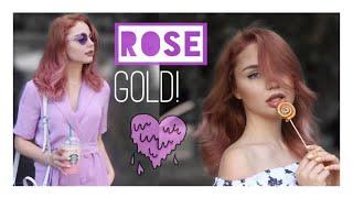 ROSE GOLD SAÇLARIM! / Vlog