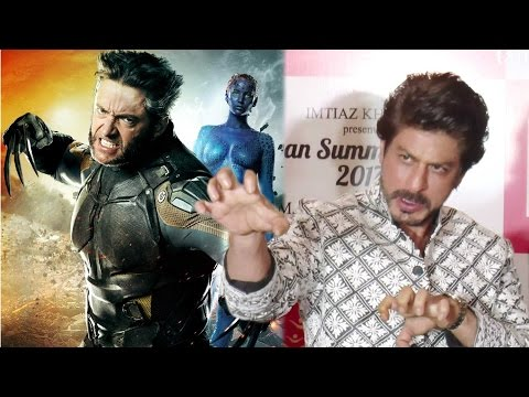 Shahrukh Khan's BEST Reply On Playing Wolverine In X Men Series