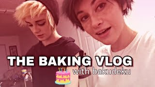 The Baking Vlog — BakuDeku (BNHA)