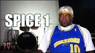 "Spice 1 on 2Pac Rolling a Bloody Blunt After Being Shot so He Could ""Die High"" (Part 8)"