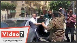 بالفيديو.. الإعلامى أحمد موسى يشارك عددا من المواطنين احتفالهم بذكرى تحرير سيناء