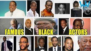 #Respect Blacks | Top black actors