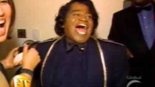 Michael Jackson meats James brown @ BET Awards backstage